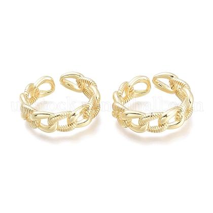 Brass Cuff RingsUK-RJEW-F103-02-G-1