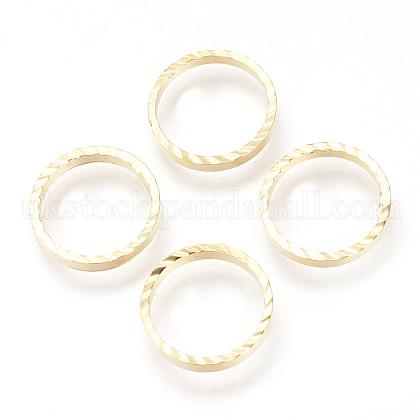 Brass Linking RingsUK-X-KK-Q735-42G-1