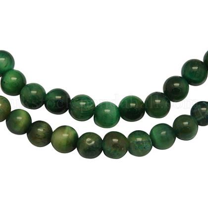Natural Tiger Eye Beads StrandsUK-G-SR4MM-49-K-1