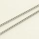 304 Stainless Steel Curb ChainsUK-CHS-R008-09-1