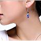Sparkling Alloy Rhinestone EarringsUK-EJEW-JL036-04-2