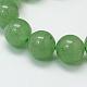 Natural Green Aventurine Beads StrandsUK-G-G099-8mm-17-2