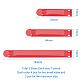 Food Snack Bag Storage Sealing ClipsUK-AJEW-PH00935-01-2