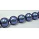 Shell Pearl Beads StrandsUK-X-SP10MM637-2