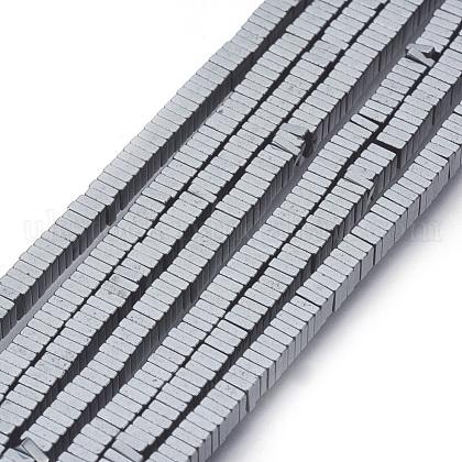 Non-magnetic Synthetic Hematite Beads StrandsUK-G-k003-3mm-07-K-1