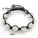 Fashion Diamond BraceletsUK-BJEW-N138-46-K-1