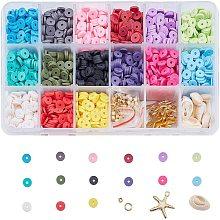 Eco-Friendly Handmade Polymer Clay Beads