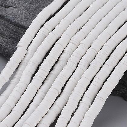Eco-Friendly Handmade Polymer Clay BeadsUK-X-CLAY-R067-6.0mm-17-1