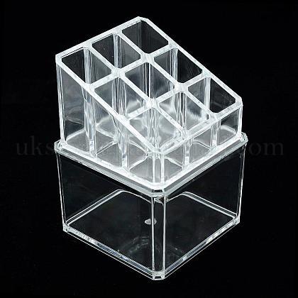 Plastic Cosmetic Storage Display BoxUK-ODIS-S013-19-1