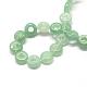 Natural Green Aventurine Bead StrandsUK-G-UK0019-01J-2