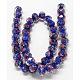 Handmade Lampwork Beads StrandsUK-LAMP-S001-10MM-06-K-2