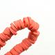 Eco-Friendly Handmade Polymer Clay BeadsUK-X-CLAY-R067-6.0mm-14-2